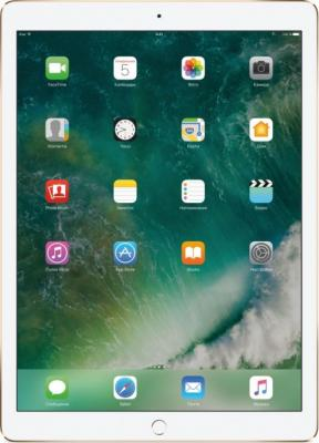 Планшет Apple iPad Pro 12.9 64Gb золотистый Wi-Fi Bluetooth iOS MQDD2RU/A планшет