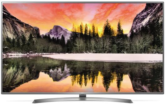 Телевизор LG 75UV341C серебристый черный