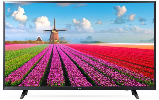 Телевизор LG 49LJ540V черный