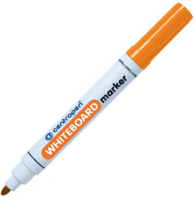 Маркер для доски Centropen 8569/1О 2.5 мм оранжевый маркер для доски centropen 8569 1о 2 5 мм оранжевый