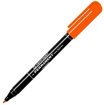 Маркер перманентный Centropen 2846/1О 1 мм оранжевый маркер для доски centropen клиновидный наконечник оранжевый 8569 1о
