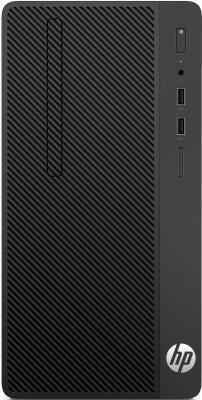 Системный блок HP 290 G1 i3-7100 3.9GHz 4Gb 1Tb DVD-RW Win10Pro черный 2MT23ES компьютер hp 290 g1 mt 1qn73ea i3 7100 3 9 4gb 500gb int intel hd 630 dvd rw kb m dos black монитор v214a