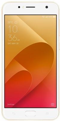 Смартфон ASUS ZenFone 4 Live ZB553KL золотистый 5.5 16 Гб LTE Wi-Fi GPS 3G 90AX00L2-M01100 смартфон asus zenfone zf3 laser zc551kl золотистый 5 5 32 гб wi fi lte gps 3g 90az01b2 m00050
