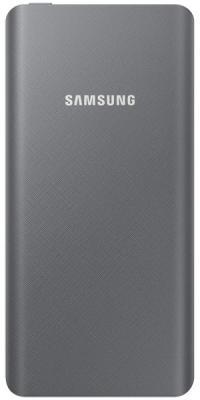 Портативное зарядное устройство Samsung EB-P3020BSRGRU 5000mAh 1xUSB серый внешний аккумулятор для портативных устройств samsung eb p3020 li ion 5000mah 1 5a серый 1xusb eb p3020bsrgru