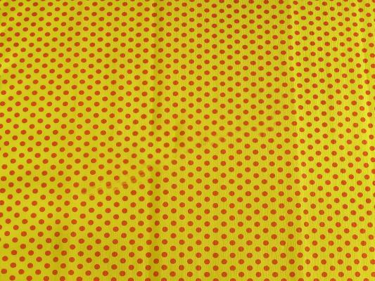 Бумага креповая Koh-i-Noor желтая с красными точками 200х50 см рулон 9755/59