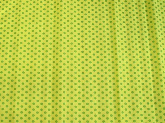Бумага креповая Koh-i-Noor желтая со светло-зелеными кружками 200х50 см рулон 9755/58
