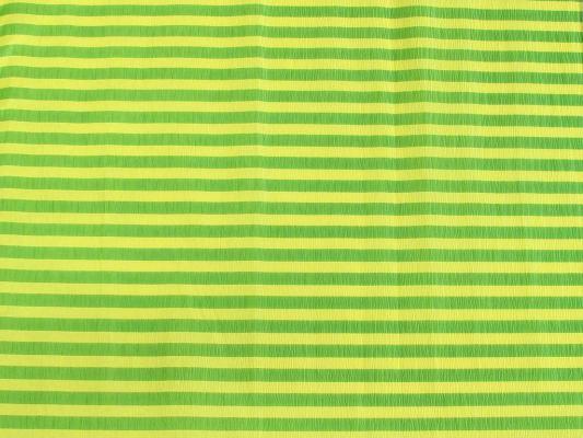 Бумага креповая Koh-i-Noor желто-зеленая полоска 200х50 см рулон 9755/70 бумага гофрированная koh i noor цвет черный 200 см x 50 см