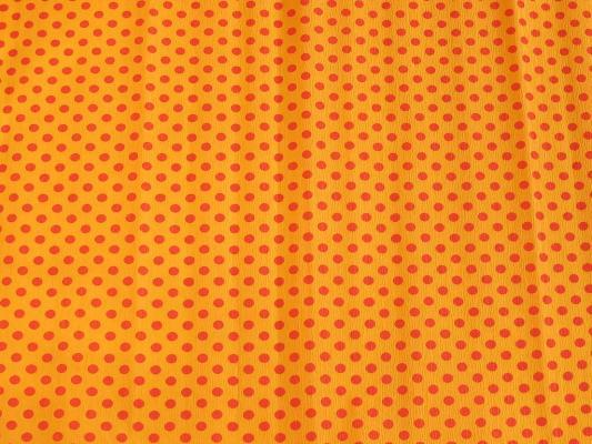 Бумага креповая Koh-i-Noor оранжевая с красными точками 200х50 см рулон 9755/52