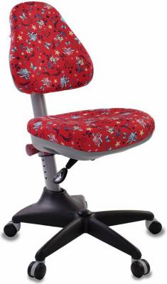 Кресло детское Бюрократ KD-2/R/ANCHOR-RD красный якоря kd w6 anchor rd