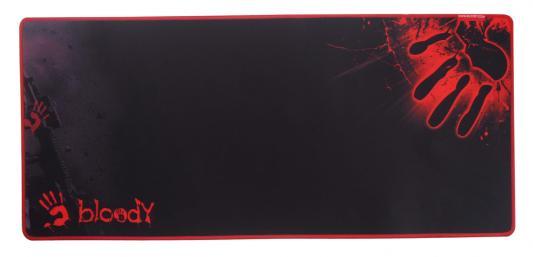 купить Коврик для мыши A4tech Bloody B-087S черный с рисунком недорого