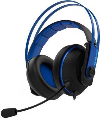все цены на Гарнитура ASUS Cerberus V2 синий черный онлайн