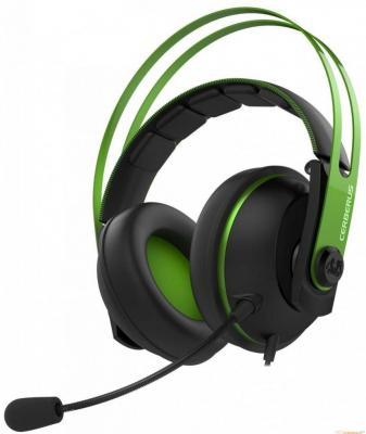 Гарнитура ASUS Cerberus V2 зеленый черный