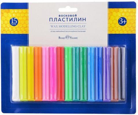Пластилин Альт Multicolor 15 цветов 34-0013