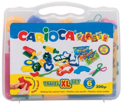 Купить Набор для лепки CARIOCA PLASTY 6 цветов 43263, Творческие наборы