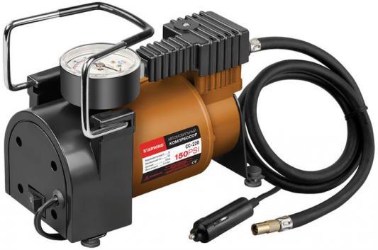 Автомобильный компрессор Starwind CC-220 автомобильный компрессор airline ca 012 08o smart o g автомобильный
