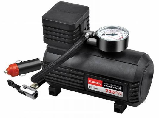 Автомобильный компрессор Starwind CC-120 автомобильный компрессор starwind cc 100