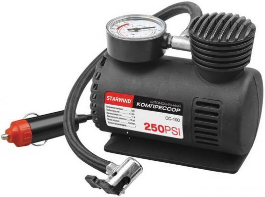 Автомобильный компрессор Starwind CC-100 автомобильный компрессор starwind cc 100