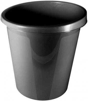 Корзина для бумаг СТАММ КР60 9л черная