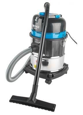 Промышленный пылесос СОЮЗ ПСС-7330 уборка серый голубой