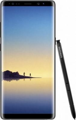Смартфон Samsung Galaxy Note 8 черный бриллиант 6.3 64 Гб NFC LTE Wi-Fi GPS 3G SM-N950FZKDSER топ klingel цвет красный