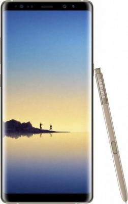 Смартфон Samsung Galaxy Note 8 желтый топаз 6.3 64 Гб NFC LTE Wi-Fi GPS 3G SM-N950FZDDSER смартфон zte blade a510 серый 5 8 гб lte wi fi gps 3g