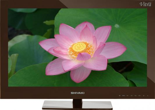 Телевизор SHIVAKI STV-24LEDGM9 коричневый телевизор supra stv lc32t700wl