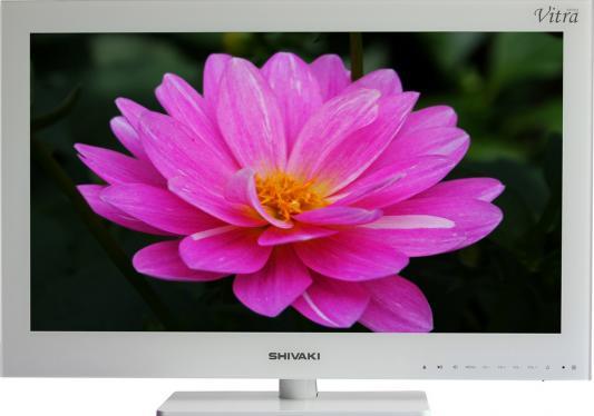Телевизор SHIVAKI STV-24LEDGW9 белый жк телевизор shivaki stv 24ledgw9
