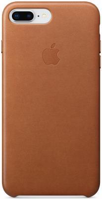 Накладка Apple Leather Case для iPhone 7 Plus iPhone 8 Plus коричневый MQHK2ZM/A