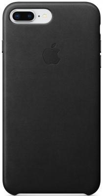 Накладка Apple Leather Case для iPhone 7 Plus iPhone 8 Plus чёрный MQHM2ZM/A