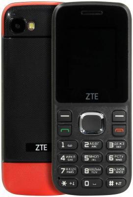Мобильный телефон ZTE R550 красный черный