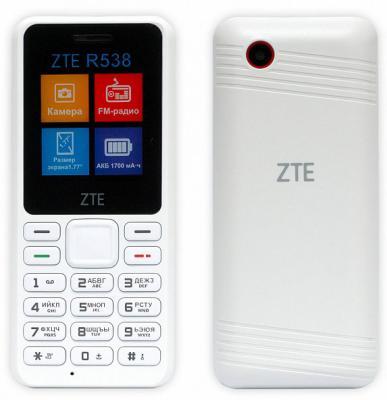 Мобильный телефон ZTE R538 белый