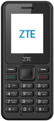 Мобильный телефон ZTE R538 черный мобильный телефон zte f327 белый