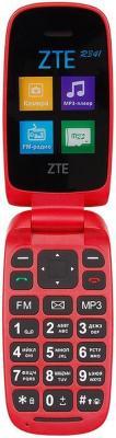 Мобильный телефон ZTE R341 красный 1.7 32 Гб мобильный телефон zte r341 черный