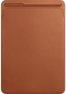 Чехол Apple Leather Sleeve для iPad Pro 10.5 золотисто-коричневый MPU12ZM/A чехол apple leather sleeve для ipad pro 12 9 чёрный mq0u2zm a