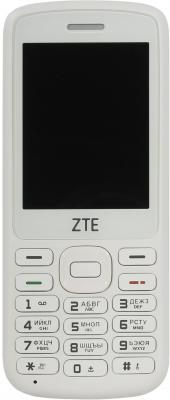 Мобильный телефон ZTE F327 белый мобильный телефон zte n1 золотистый