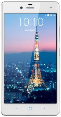 Смартфон ZTE Blade A476 белый 5 8 Гб LTE Wi-Fi GPS 3G смартфон zte blade 601 черный 5 8 гб lte wi fi gps 3g bladea601black