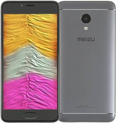Смартфон Meizu M5s серый черный 5.2 16 Гб LTE Wi-Fi GPS 3G смартфон zte blade a510 серый 5 8 гб lte wi fi gps 3g