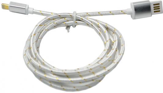 Кабель Lightning 1.5м Wiiix круглый CB110-U8-15S кабели wiiix кабель переходник с кожаной оплеткой