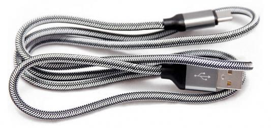 Кабель-переходник WIIIX CB110-UTC-15S USB-Type-C серебристый