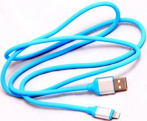 Кабель Lightning 1м Wiiix круглый CB120-U8-10BU кабель lightning 1м wiiix круглый cb120 u8 10b