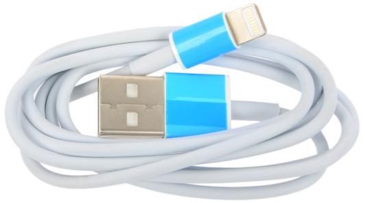 Кабель Lightning 1м Wiiix круглый CB600-2A-U8-10W кабели wiiix кабель переходник с кожаной оплеткой