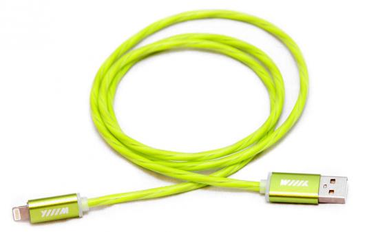 Кабель Lightning 1м Wiiix круглый CBL710-U8-10G