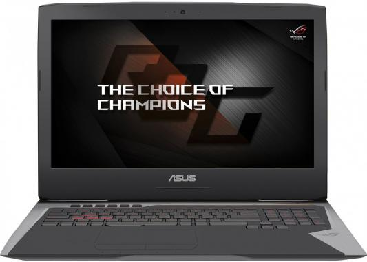 Ноутбук ASUS ROG G752VS-GC438 17.3 1920x1080 Intel Core i7-7700HQ ноутбук asus rog gl502vt fy010t 15 6 1920x1080 intel core i7 6700hq 90nb0ap1 m02120
