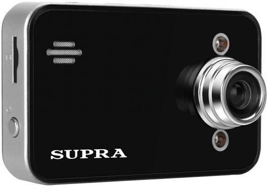Видеорегистратор SUPRA SCR-12 2.7 1920x1080 140° G-сенсор USB microSD microSDHC
