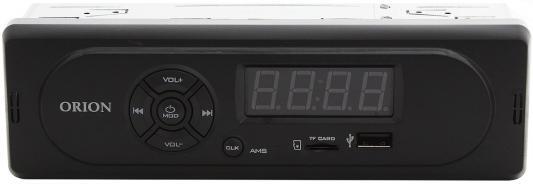 Автомагнитола Orion DHO-1200U USB MP3 FM 1DIN 2x35Вт черный автомагнитола kenwood kmm 103ay usb mp3 fm 1din 4х50вт черный