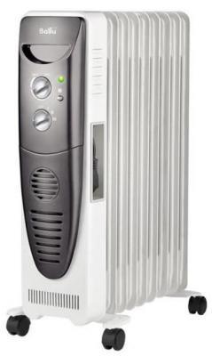 Масляный радиатор BALLU BOH/TB- 09FH 2000 Вт термостат ручка для переноски белый