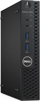ПК Dell Optiplex 3050 Micro i5 6500T (2.5)/8Gb/SSD256Gb/HDG530/Windows 7 Professional +W10Pro/Eth/клавиатура/мышь/черный
