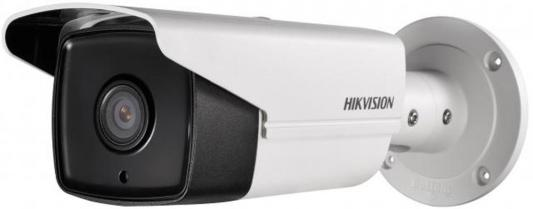 "Видеокамера Hikvision DS-2CD2T42WD-I8 CMOS 1/3"" 6 мм 2688 x 1520 H.264 H.264+ RJ-45 LAN PoE белый"