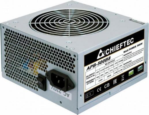БП ATX 500 Вт Chieftec APB-500B8 бп atx 500 вт chieftec iarena series gpa 500s8