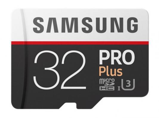 Карта памяти Micro SDHC 32Gb Class 10 Samsung MB-MD32GA/RU + SD adapter цена 2017